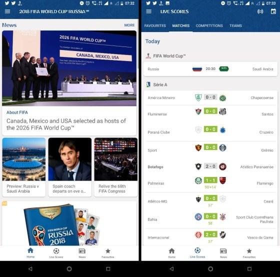 fifa official app - Thêm lịch thi đấu World Cup vào Calendar trên điện thoại