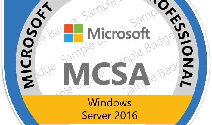 tài liệu MCSA 2016
