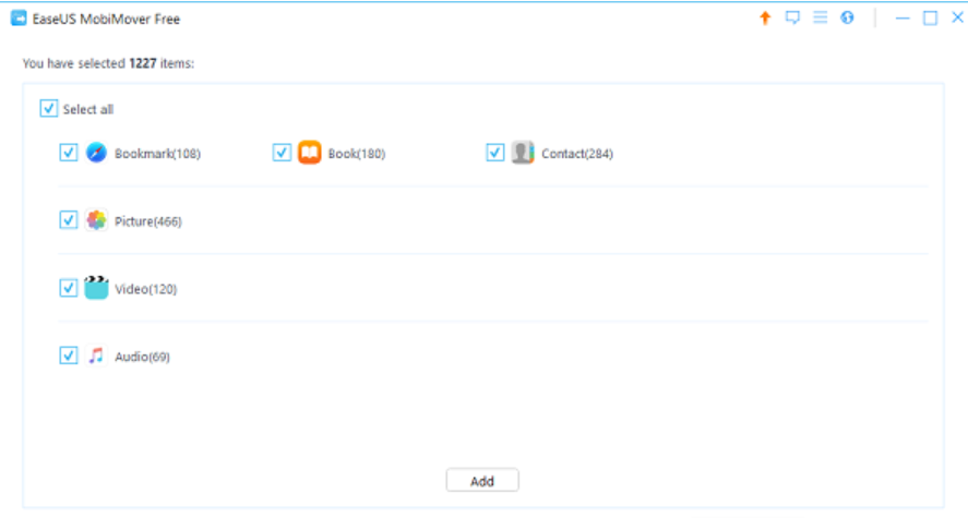 Review phần mềm chuyển dữ liệu EaseUS MobiMover 4.0 6