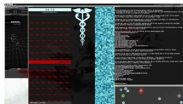 hacknet game tập làm hacker