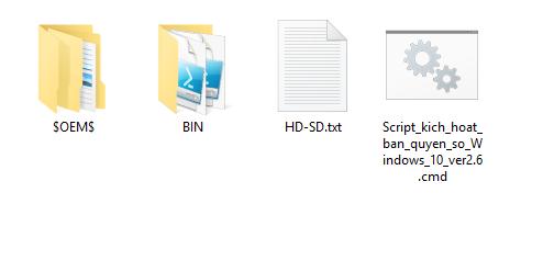 Tool kích hoạt trực tiếp bản quyền chính hãng Windows 10 7