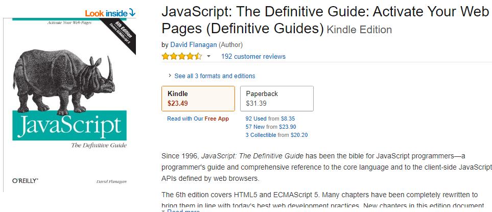 Tải miễn phí ebook tự học Javascript