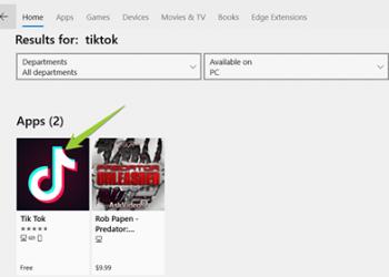 Cài đặt ứng dụng xem video Tik Tok trên Windows 10 không cần giả lập 1