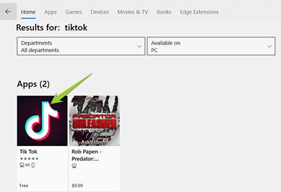 Cài đặt ứng dụng xem video Tik Tok trên Windows 10 không cần giả lập 3