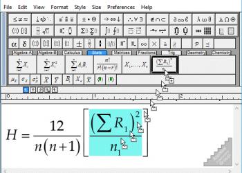 Download MathType 7.4 Full Key - Phần mềm hổ trợ gõ ký tự Toán học 1