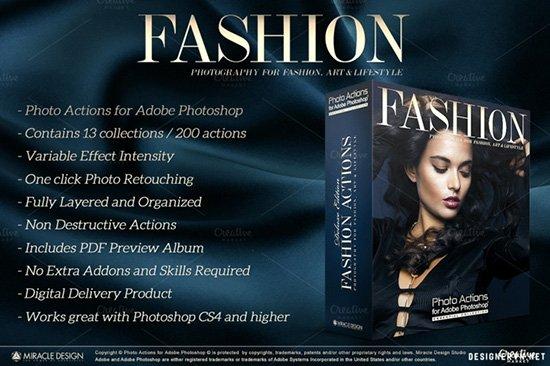 Share bộ action photoshop tự động blend màu phong cách trị giá 15$ 56