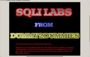 Thực hành khai thác lỗi SQL injection với Sqli-labs 3
