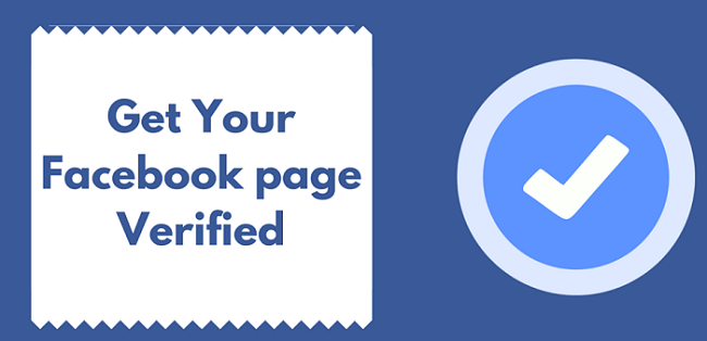 How to validate the green tick for Fanpage or facebook page