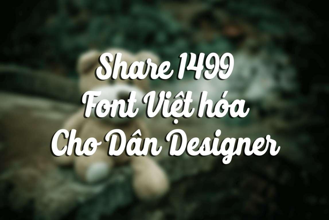 Font Việt Hóa Đẹp
