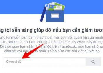 Cách Giảm tương tác với bạn bè trên Facebook 2