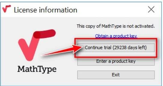 mathtype 7 key