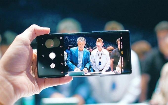 Camera trước Samsung Galaxy Note 9
