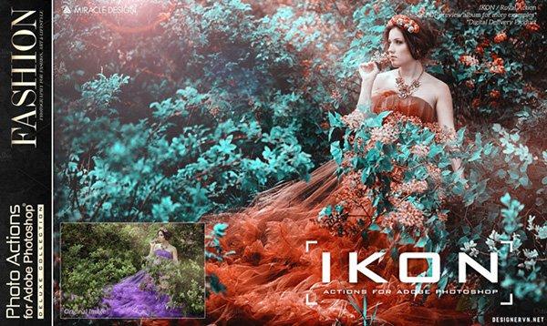 Share bộ action photoshop tự động blend màu phong cách trị giá 15$ 63