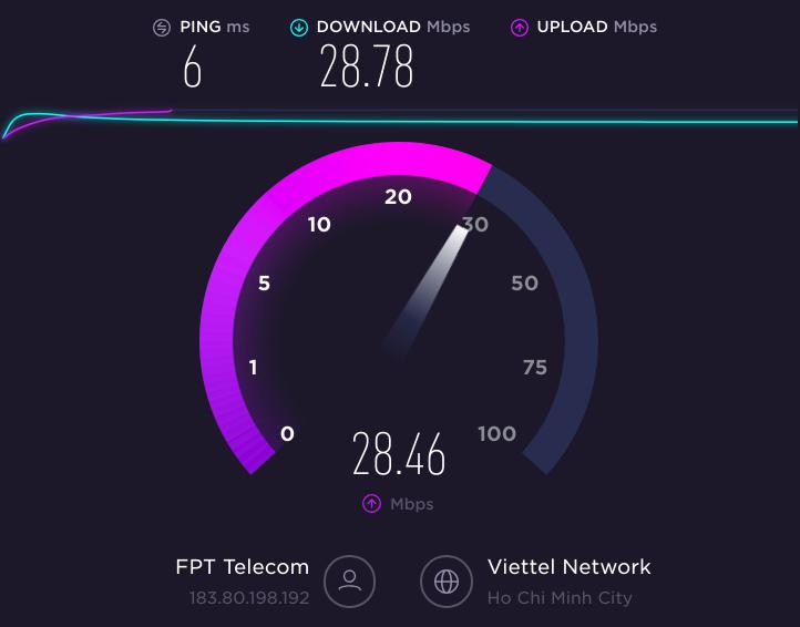 Hướng dẫn kiểm tra tốc độ mạng Internet và cách làm mạng nhanh hơn 4