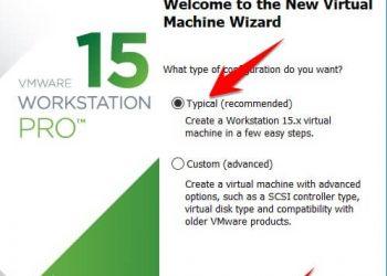 Cách tạo máy ảo trên VMWare Workstation 15 Pro 1