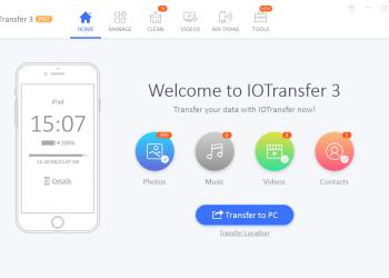 IOTransfer 3 - Phần mềm quản lý iPhone/iPad tốt nhất hiện nay 1