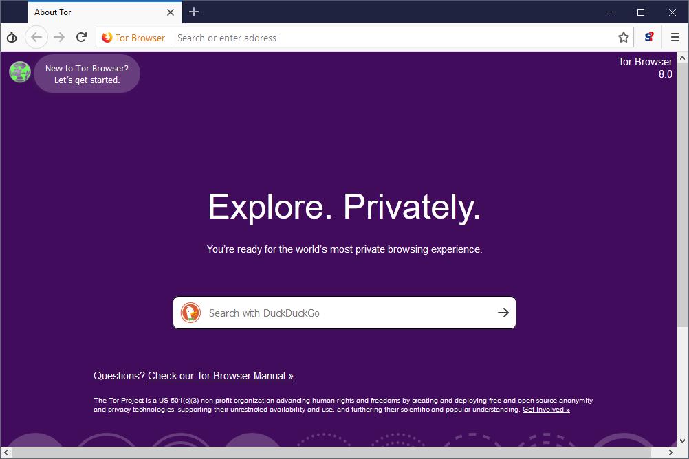tor browser 8.0 trình duyệt giúp bạn truy cập Deepweb an toàn