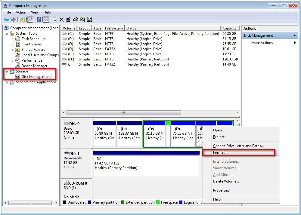 Hướng dẫn khôi phục dữ liệu đã xoá trên ổ đĩa sau khi Format 8