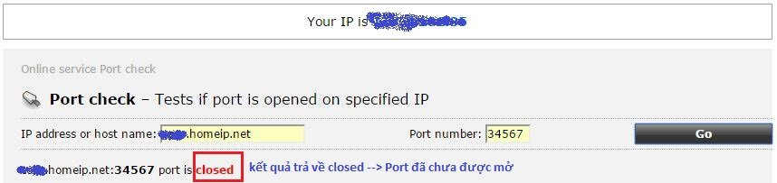 Hướng dẫn cấu hình No-IP, Nat Port ra Internet 28