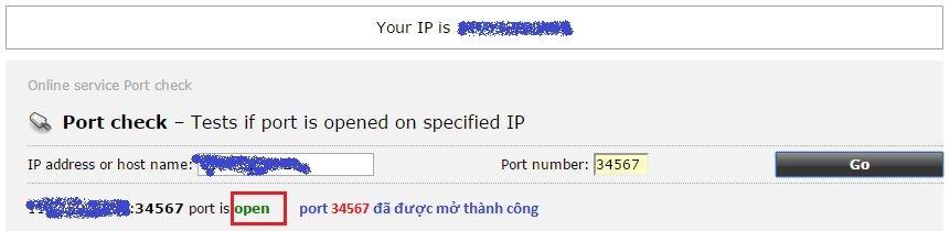 Hướng dẫn cấu hình No-IP, Nat Port ra Internet 21