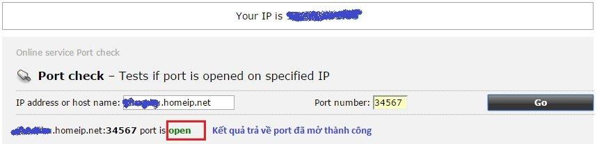 Hướng dẫn cấu hình No-IP, Nat Port ra Internet 27