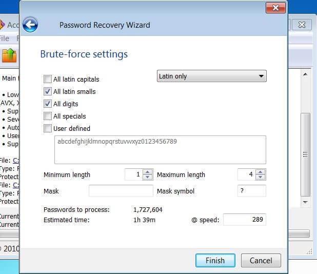 bẻ khóa mật khẩu Winrar