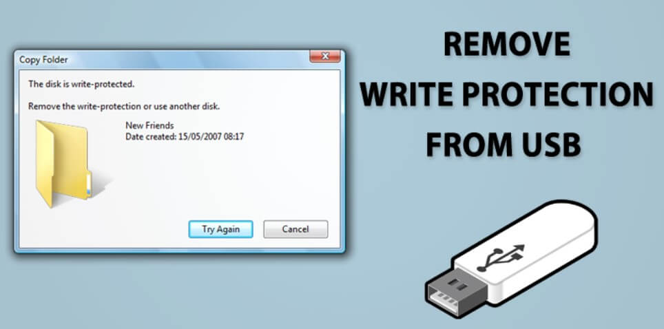 remove write protected