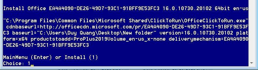 Cách cài Office 2019 trên Windows 7, 8, 8.1 10