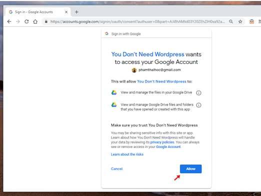 Hướng dẫn tự làm Blog mà không cần biết lập trình với Google Docs 9