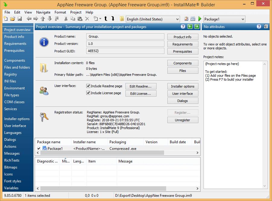 InstallMate 9 Full - Tự tạo file cài đặt Setup, Install dễ dàng 3