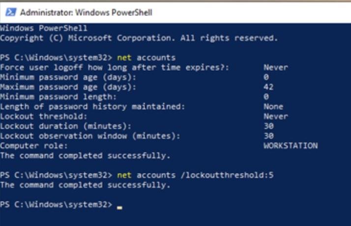 Hướng dẫn tự khoá máy tính Windows 10 khi bị đăng nhập trái phép 34