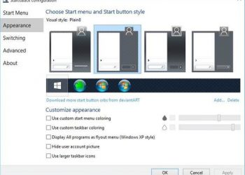 Download START10 1.80 Full - Cài nút Start cho Windows 10 giống Windows 7 1