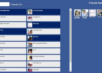 Hủy kết bạn hàng loạt trên Facebook nhanh nhất với Friends Removal 1