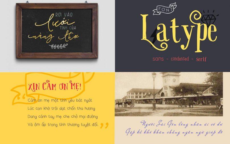 Share Trọn Bộ Full Font Chữ Viết Tay Việt Hóa Đẹp cho dân Design 7