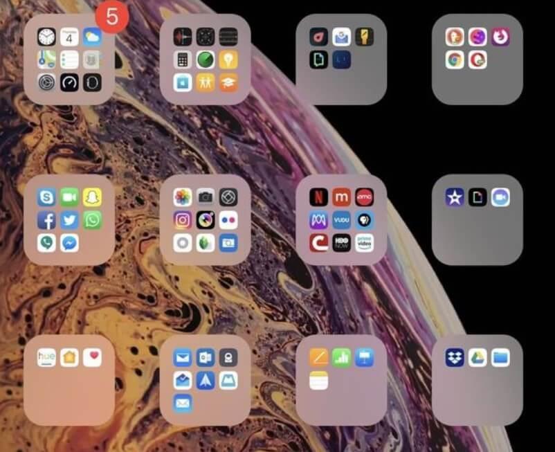 folder noname iphone