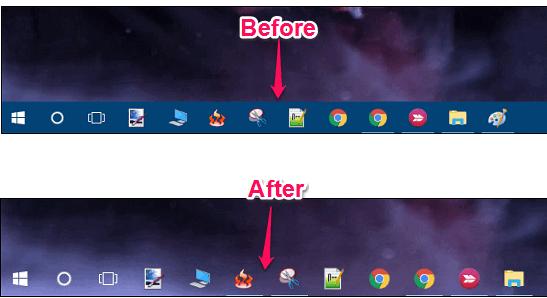 Hướng dẫn làm trong suốt thanh Taskbar trên Windows 10