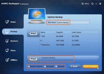 Download AOMEI Backupper 5 Full - Phần mềm sao lưu dữ liệu máy tính 6
