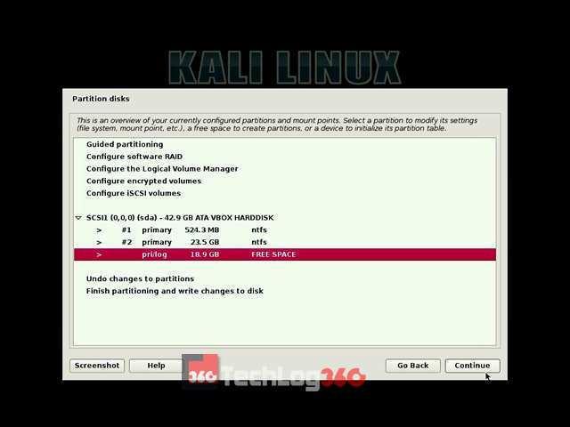 Cách cài song song Kali Linux với windows 10 mới nhất 35