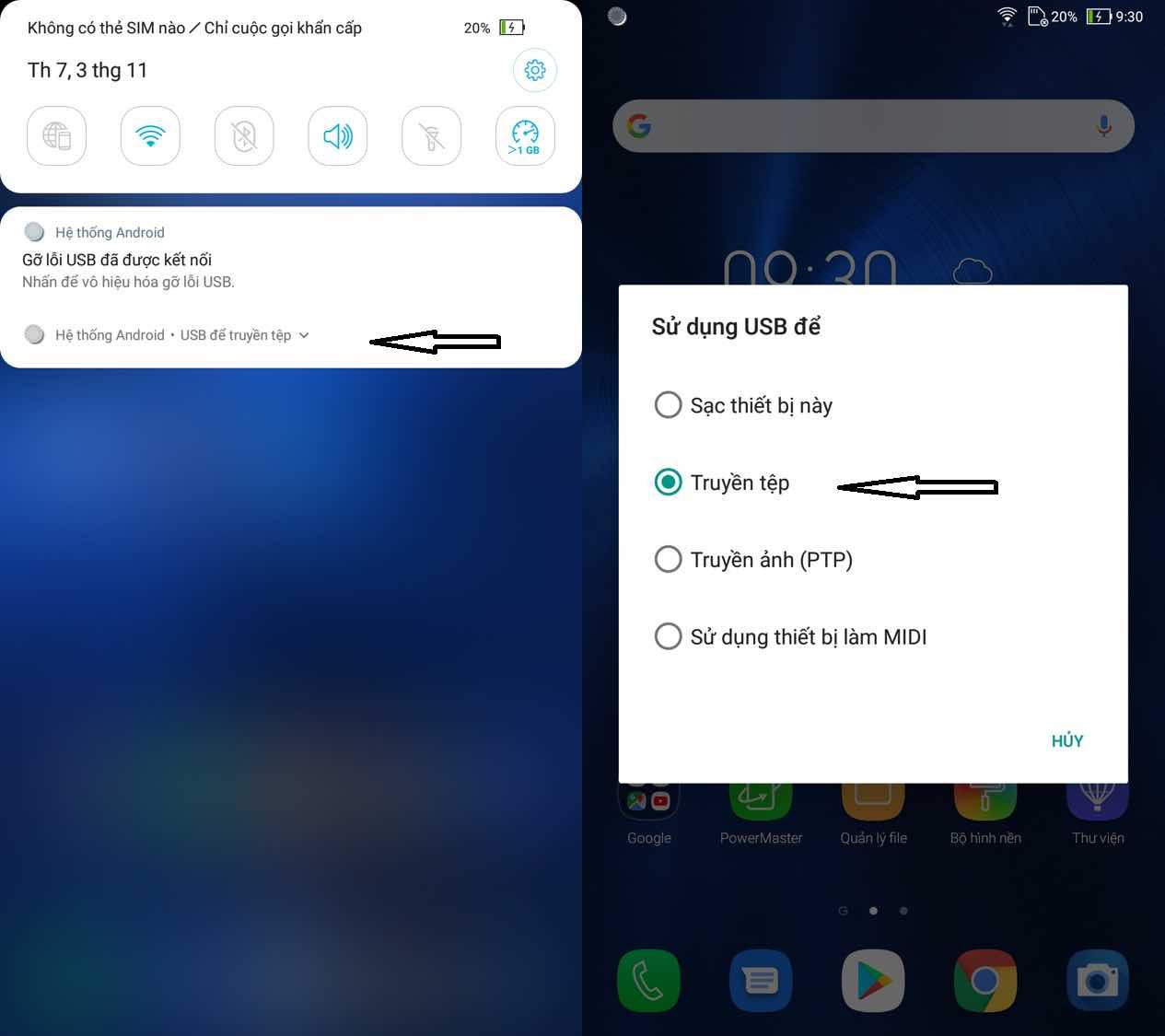 Cách kết nối hình ảnh từ màn hình điện thoại đến màn hình máy tính 6