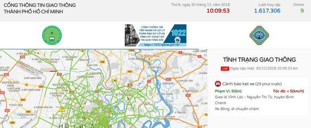 xem Camera giao thông TP Hồ Chí Minh