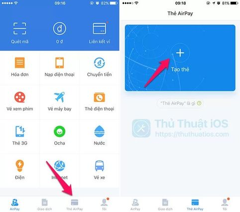 Cách tạo MasterCard ảo bằng AirPay