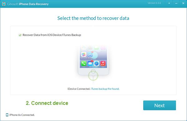 Gihosoft - Phần mềm khôi phục dữ liệu cho iPhone tốt nhất 10