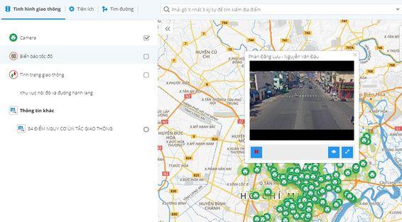 bản đồ camera giao thông