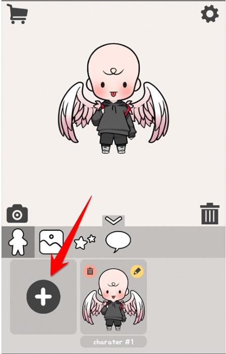 thiết kế avatar búp bê hàn quốc