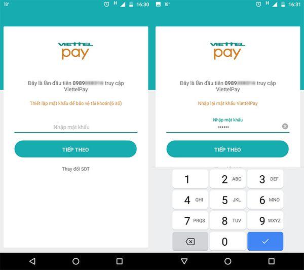 tạo MasterCard ảo bằng Viettel Pay