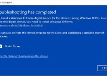 Lỗi trên Windows 10 Pro làm tự động hạ cấp xuống Windows 10 Home 1