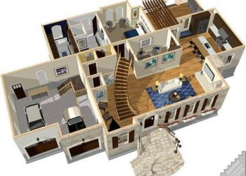 Home Designer Professional v22.1 Full - Phần mềm thiết kế nhà ở 3