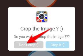 Don't Crop