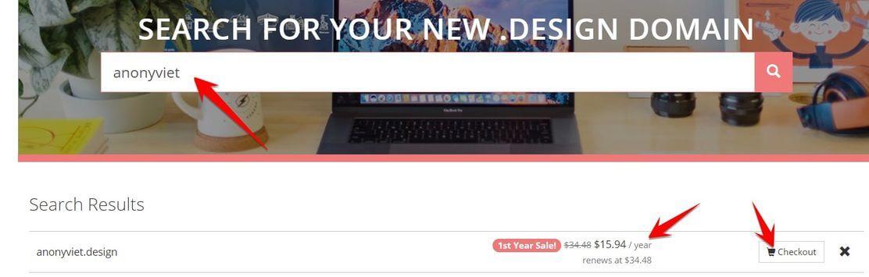domain .design free