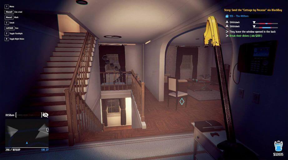 tải game Game Thief Simulator: Học cách trở thành kẻ trộm